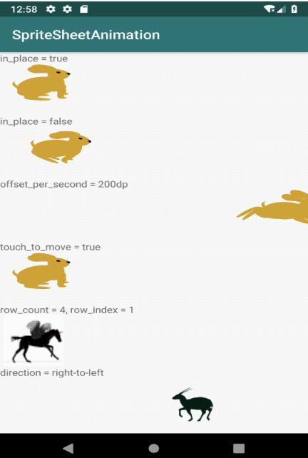 SpriteAnimationView:一个用于播放精灵图动画的组件